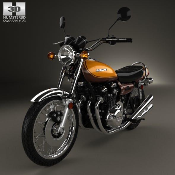Kawasaki 900 Z1 Super Four 1973 - 3DOcean Item for Sale