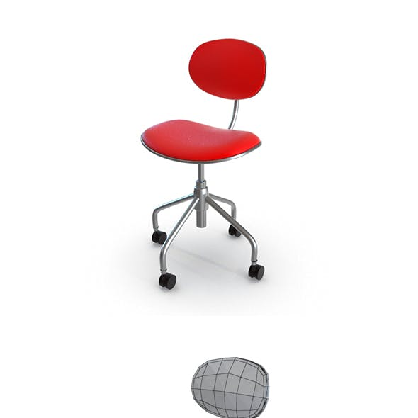 Simple Swivel Office Chair