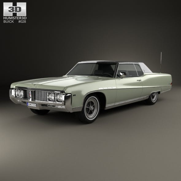 Buick Electra 225 Custom Sport Coupe 1969 - 3DOcean Item for Sale