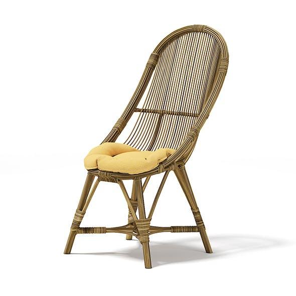 Wicker Chair - 3DOcean Item for Sale