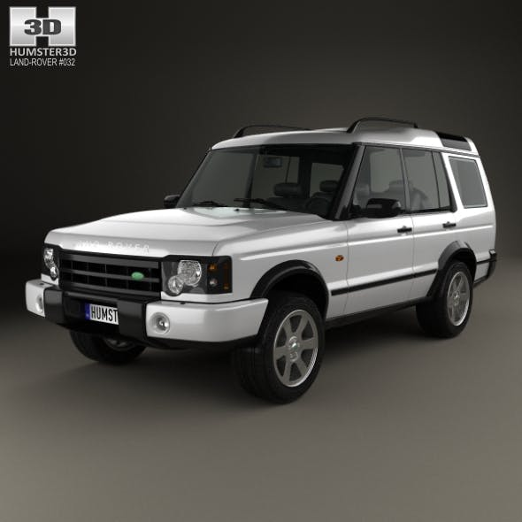 Land Rover Discovery 2003 - 3DOcean Item for Sale