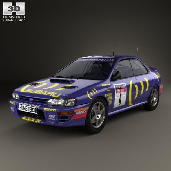 Subaru Impreza WRC (GC) 1993 - 3DOcean Item for Sale