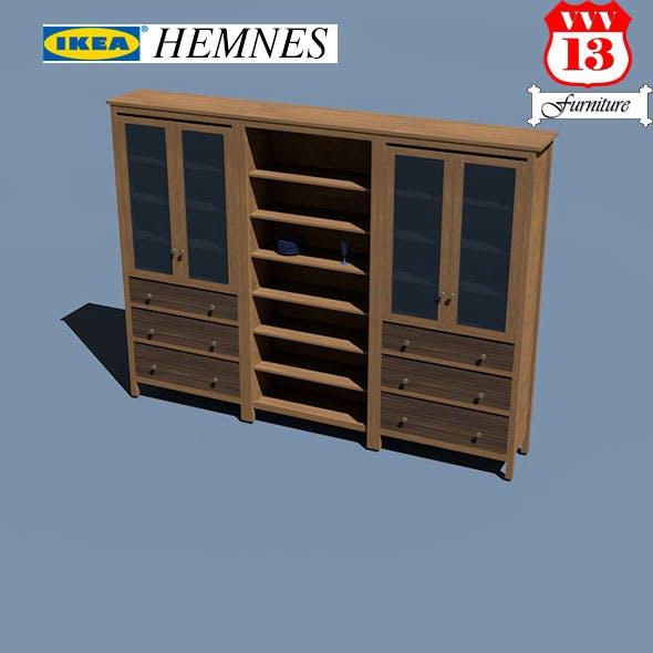 Storage combination w doors/drawers