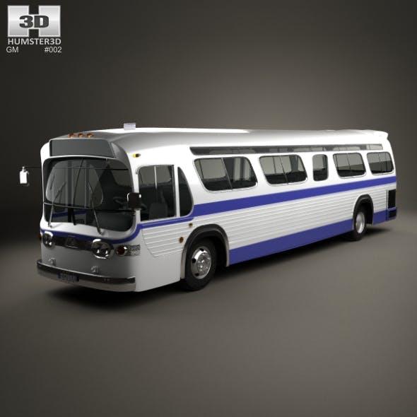 GM New Look TGH-5303 Bus 1965 - 3DOcean Item for Sale