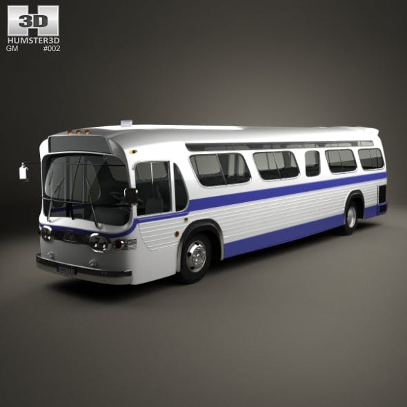 GM New Look TGH-5303 Bus 1965