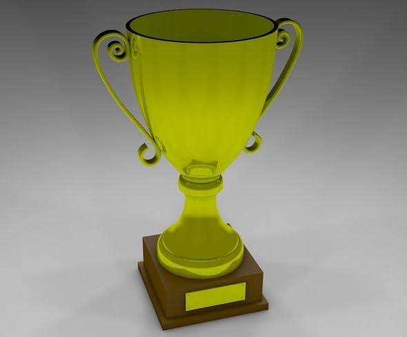 Golden Cup - 3DOcean Item for Sale