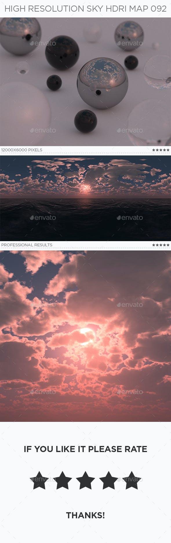 High Resolution Sky HDRi Map 092 - 3DOcean Item for Sale