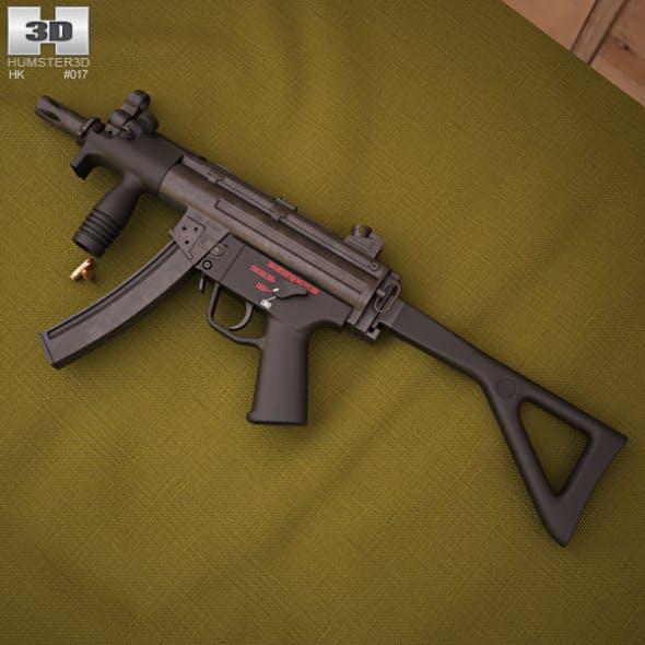 Heckler & Koch MP5K-PDW - 3DOcean Item for Sale