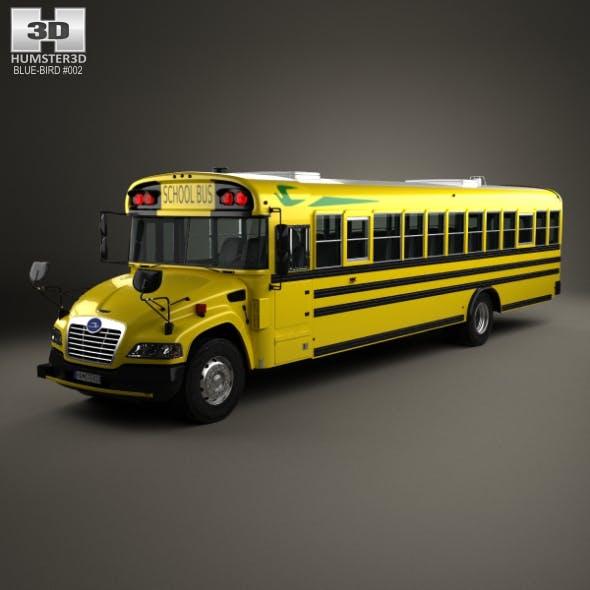 Blue Bird Vision School Bus 2015 - 3DOcean Item for Sale