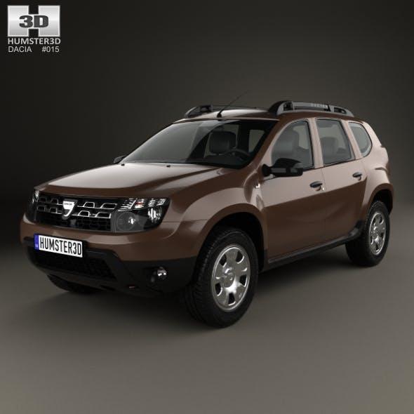 Dacia Duster 2015 - 3DOcean Item for Sale