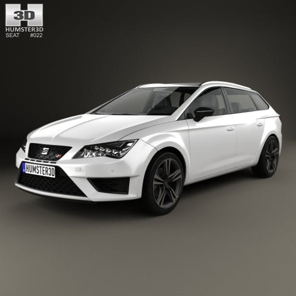 Seat Leon ST Cupra 280 2015 - 3DOcean Item for Sale