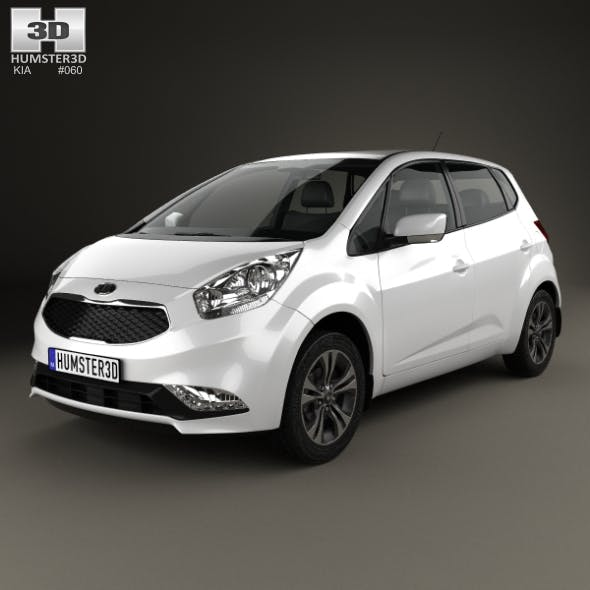 Kia Venga 2015 - 3DOcean Item for Sale