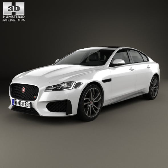 Jaguar XF S 2016 - 3DOcean Item for Sale