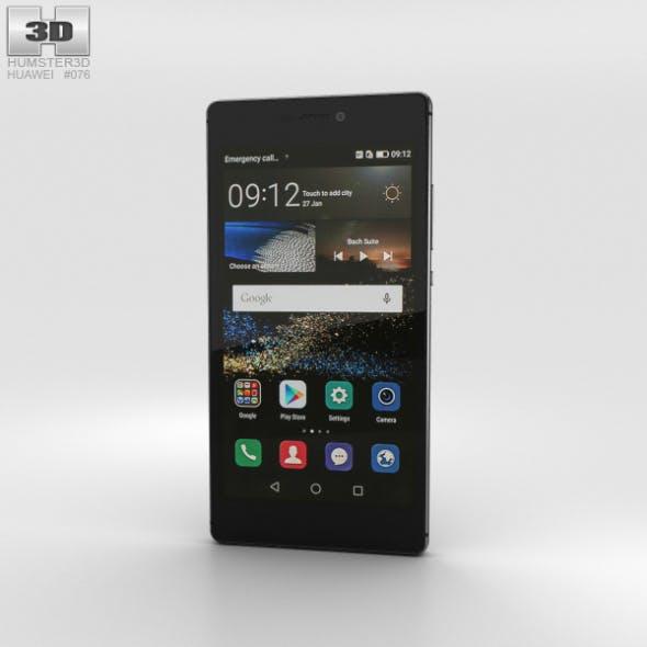 Huawei P8 Carbon Black - 3DOcean Item for Sale