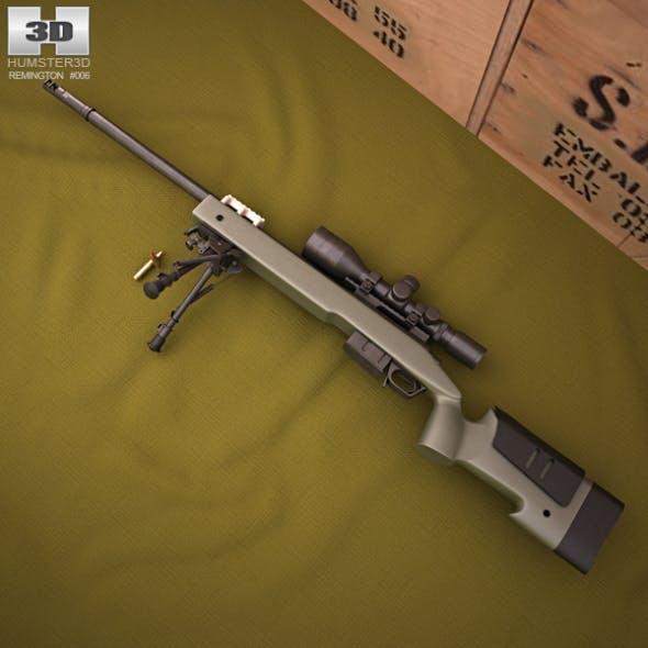 Remington M40A5 - 3DOcean Item for Sale