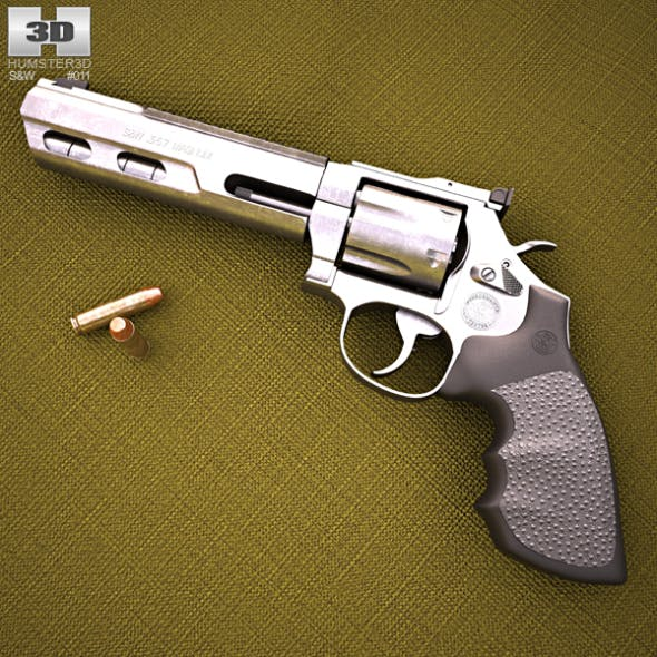 Smith & Wesson Model 686 - 3DOcean Item for Sale