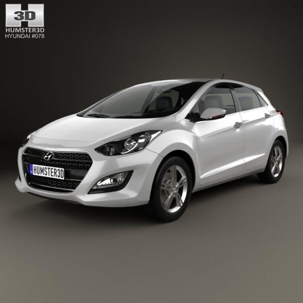 Hyundai i30 5-door 2015 - 3DOcean Item for Sale