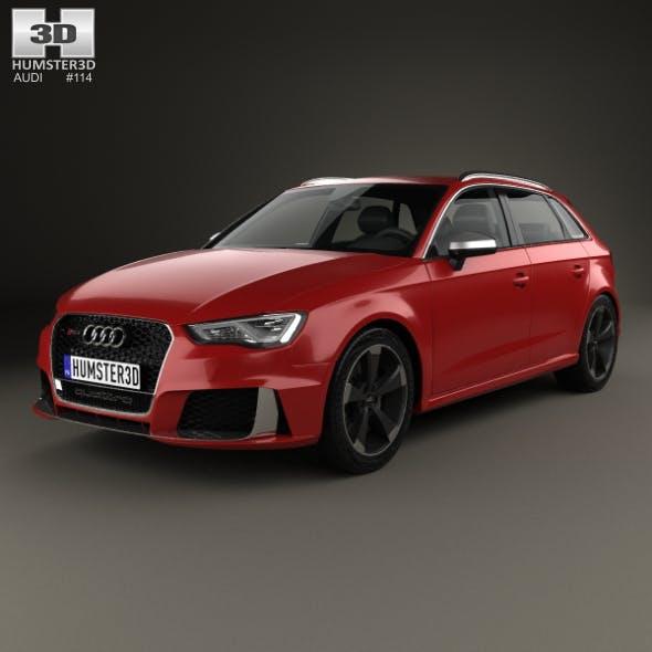 Audi RS3 Sportback 2015 - 3DOcean Item for Sale