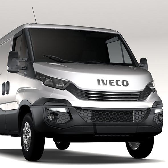 Iveco Daily L2H1 2017 - 3DOcean Item for Sale