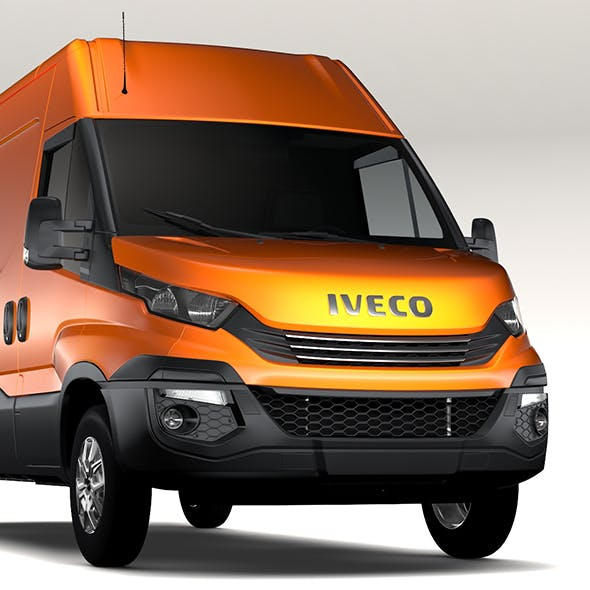 Iveco Daily L3H2 2017 - 3DOcean Item for Sale
