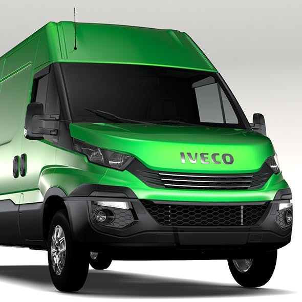 Iveco Daily L4H2 2017 - 3DOcean Item for Sale