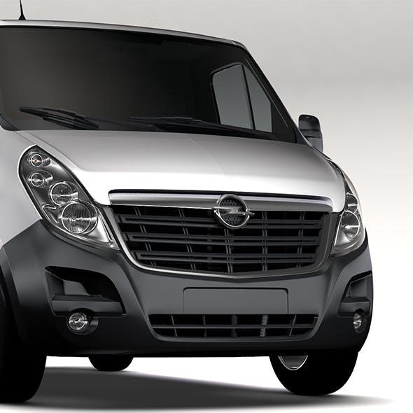 Opel Movano L1H1 Van 2016 - 3DOcean Item for Sale