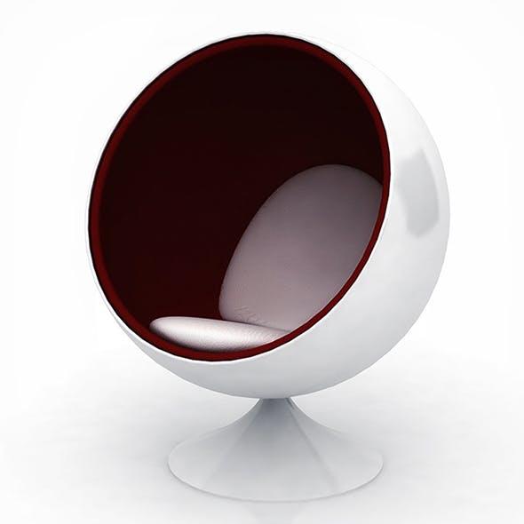 Vray Ready Modern Chair