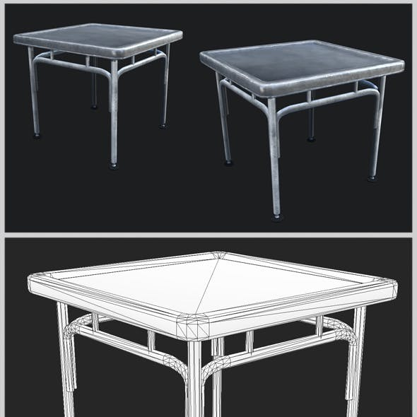 Small Industrial Steel Table