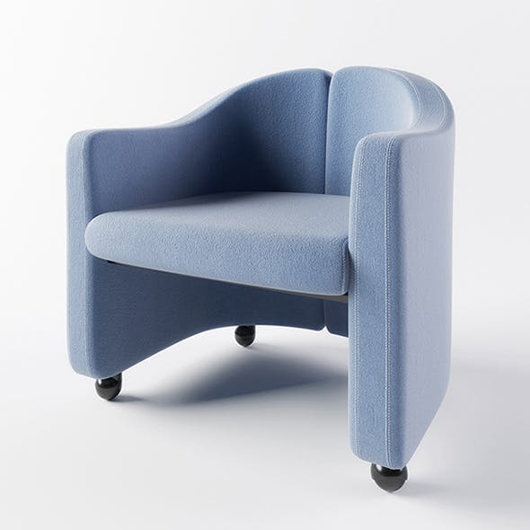 Vray Ready Luxury Modern Chair