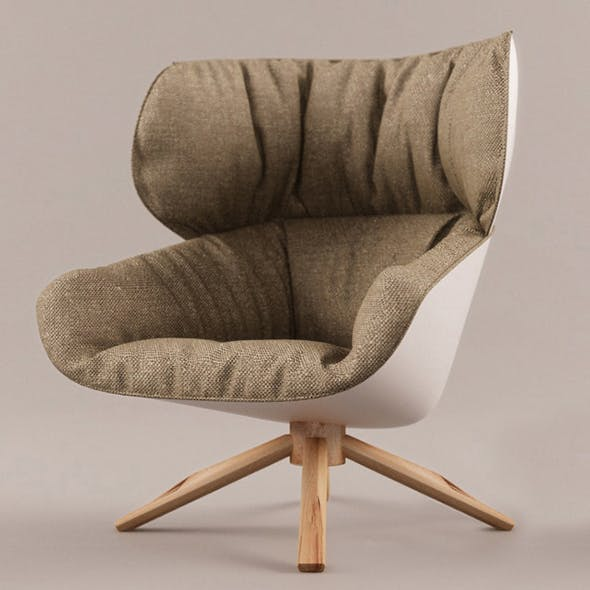 Vray Ready Modern Luxury Chair