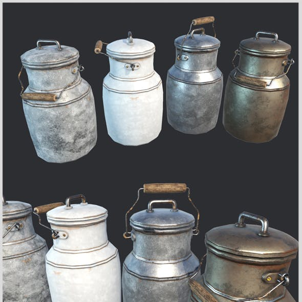 Old Milk Jars
