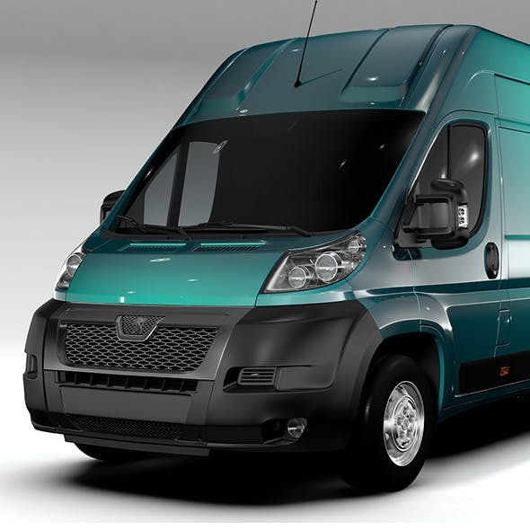Peugeot Boxer Van L4H3 2006-2015 - 3DOcean Item for Sale