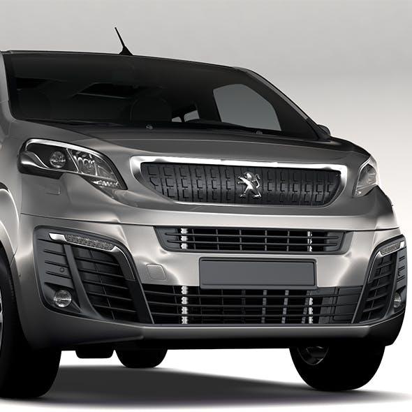Peugeot Traveller L1 2017 - 3DOcean Item for Sale
