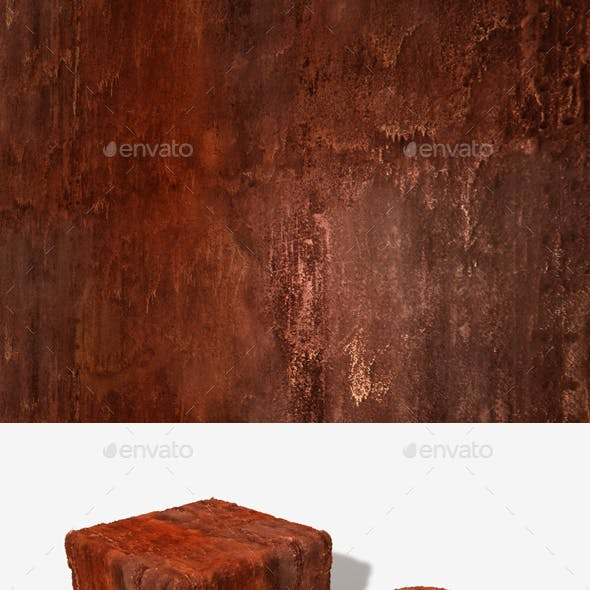 Orange Rust Seamless Texture