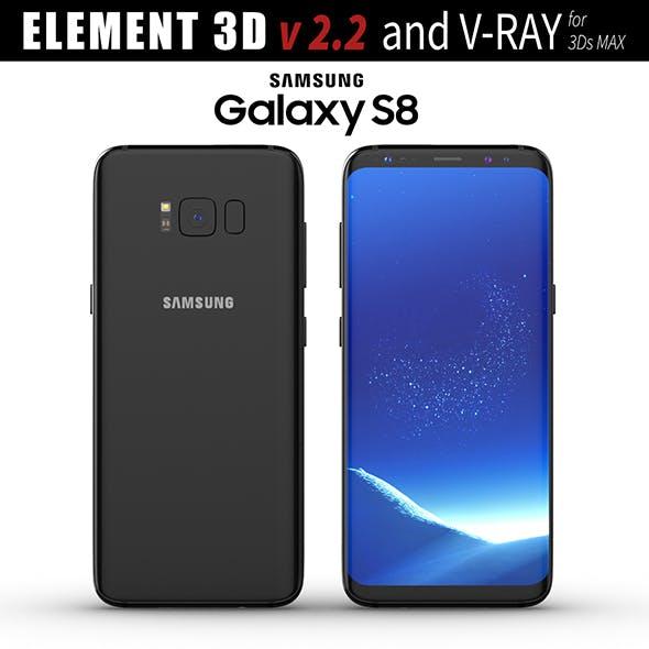 Samsung Galaxy S8 Midnight Black model