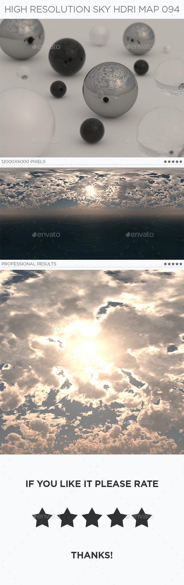 High Resolution Sky HDRi Map 094 - 3DOcean Item for Sale