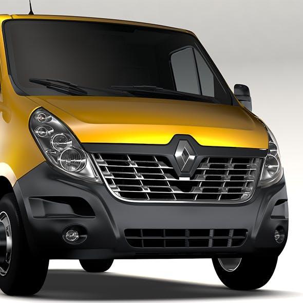 Renault Master L1H1 Van 2017 - 3DOcean Item for Sale