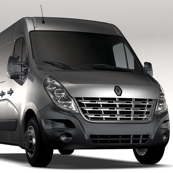 Renault Master L2H2 Van 2010
