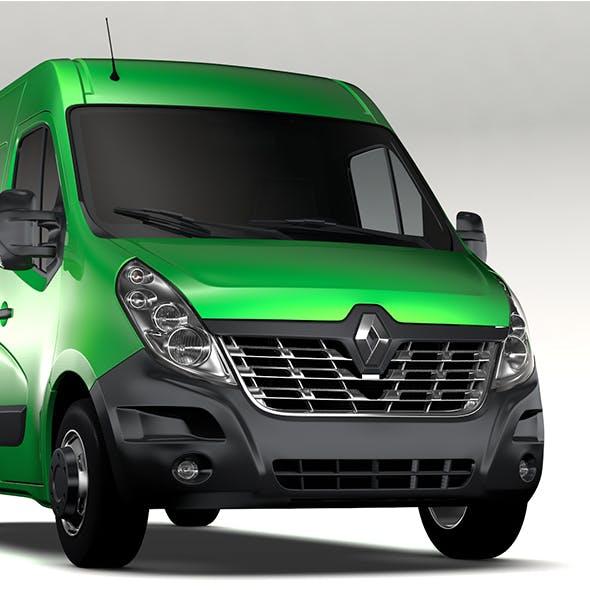 Renault Master L2H2 Van 2017 - 3DOcean Item for Sale