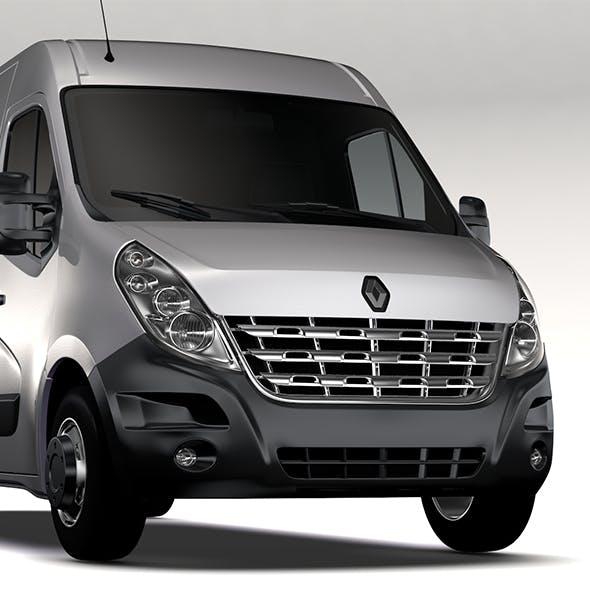 Renault Master L4H2 Van 2010 - 3DOcean Item for Sale