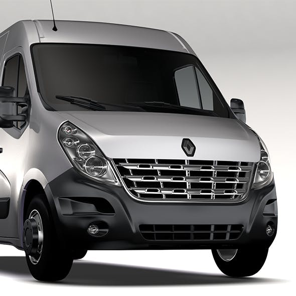 Renault Master L4H2 Van 2010