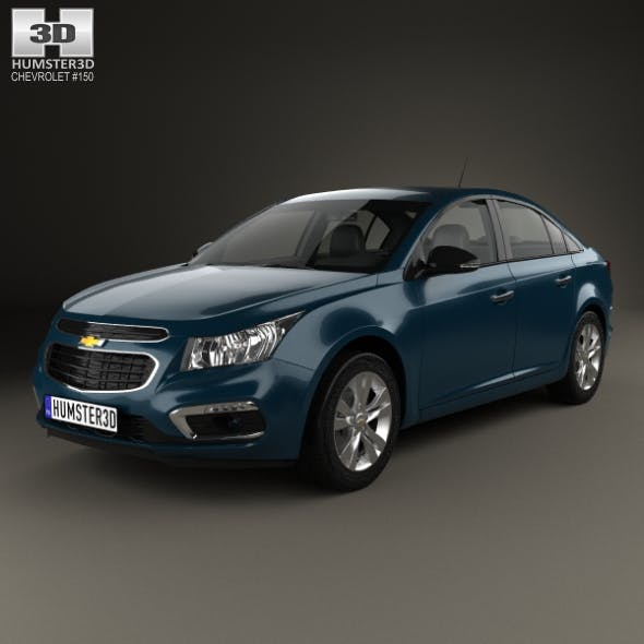 Chevrolet Cruze sedan 2015 - 3DOcean Item for Sale