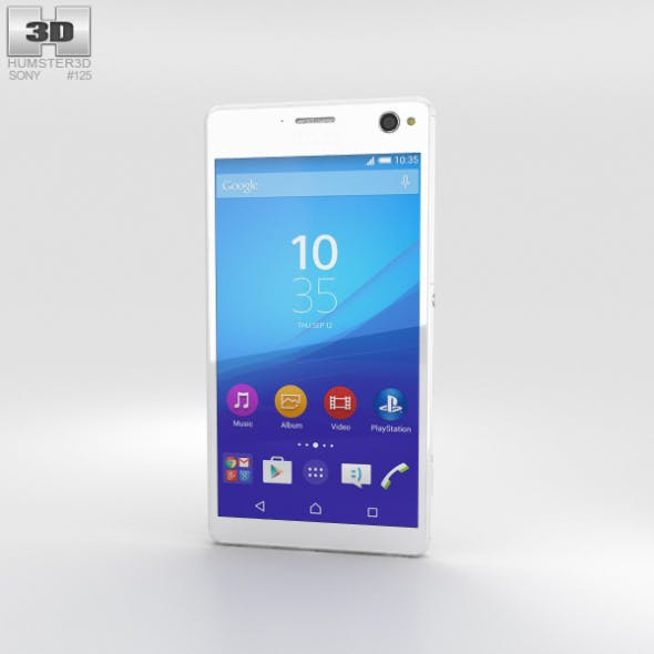 Sony Xperia C4 White - 3DOcean Item for Sale