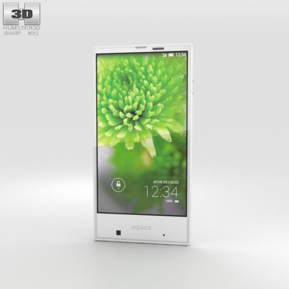 Sharp Aquos Serie mini SHV31 White