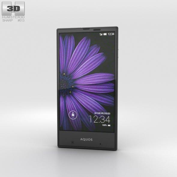 Sharp Aquos Serie mini SHV31 Black - 3DOcean Item for Sale