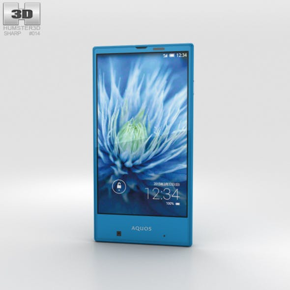 Sharp Aquos Serie mini SHV31 Blue