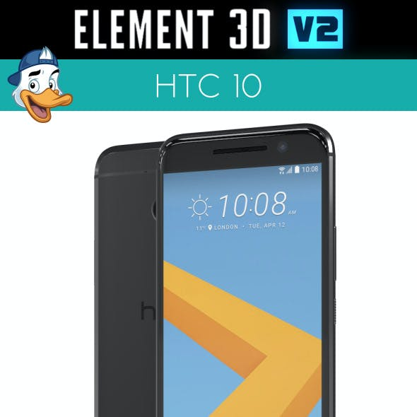 HTC 10 for Element 3D
