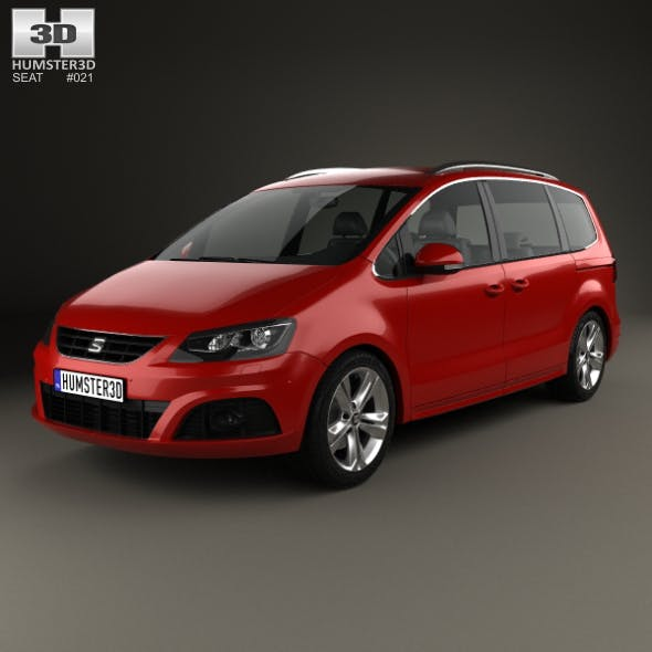 Seat Alhambra 2014 - 3DOcean Item for Sale