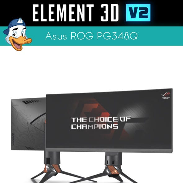Asus ROG PG348Q for Element 3D