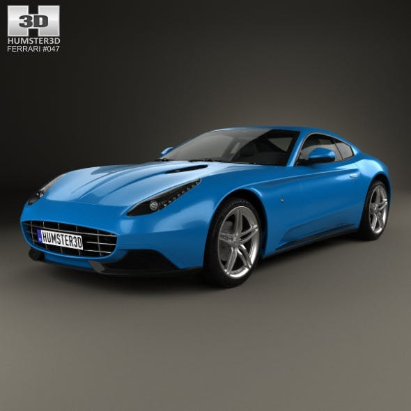 Ferrari F12 Berlinetta Lusso 2014 - 3DOcean Item for Sale